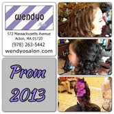 Acton Boxborough Prom 2013 @ wendyo Salon Acton, Ma