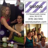 Laura's Big Day aka: The First Wedding of wendyo Salon of Acton Massachusetts