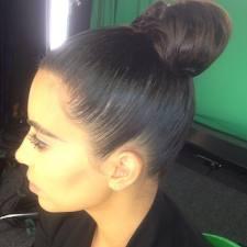 Kim Kardashian / Demi Lovato Inspired Ballerina Bun
