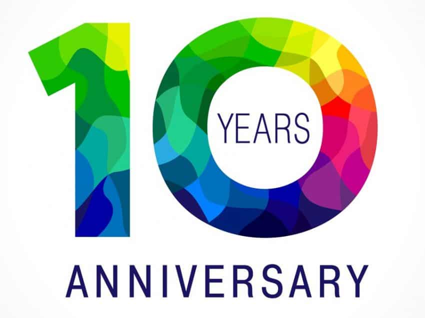 Updated Press Release for 10 Year Anniversary