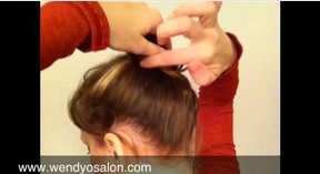 Brooke Burke/ Dancing With The Stars Inspired High Messy Bun
