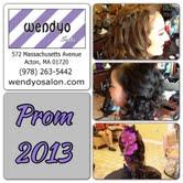 Acton Boxborough Prom 2013 @ wendyo Salon Acton, Ma
