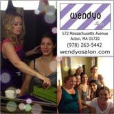 Laura's Big Day aka: The First Wedding of wendyo Salon of Acton Massachusetts