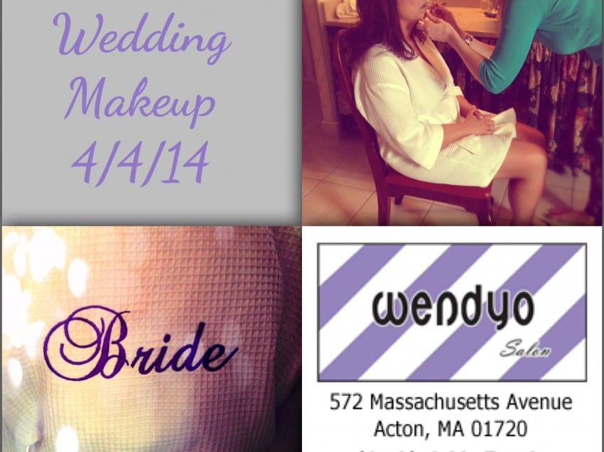 Lauren's Wedding Makeup 2014